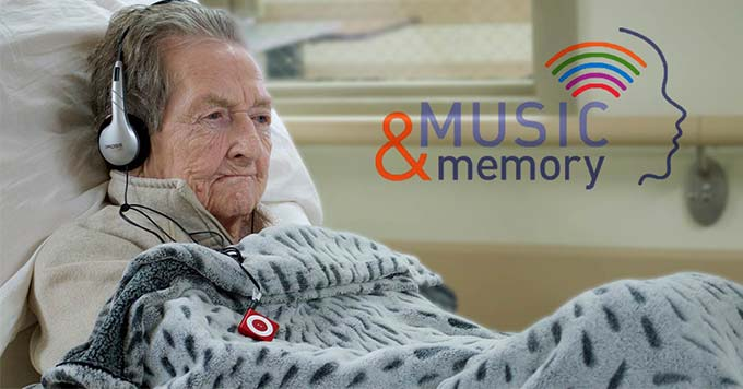 Music & Memory, elderly resident