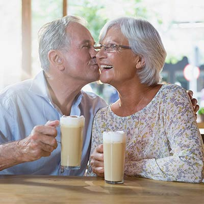 older couple enjoying life